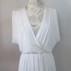 BLACK HALO White 'JILL' Dress M NWT $298